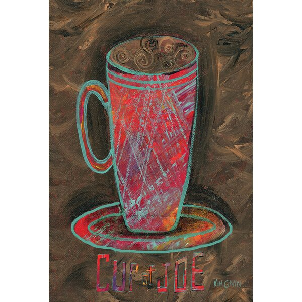 Oil Pastel Cup Of Joe 2-Sided Garden flag by Toland Home Garden