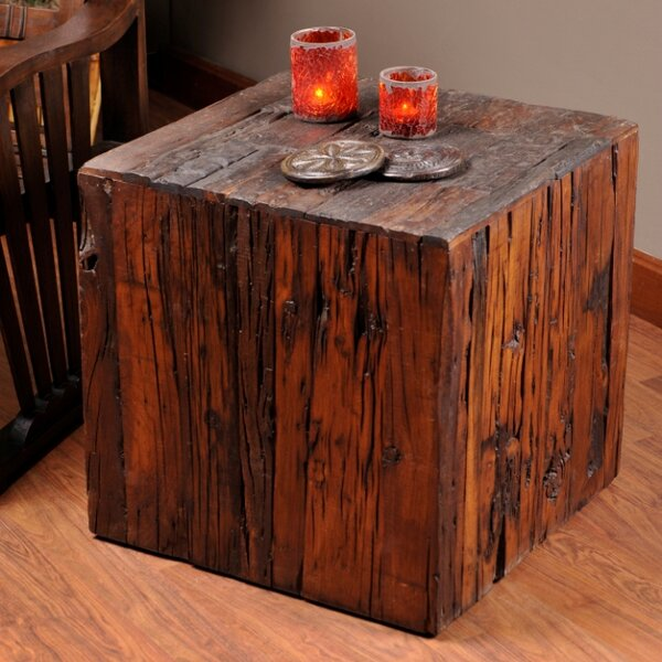 Cortland End Table by Loon Peak