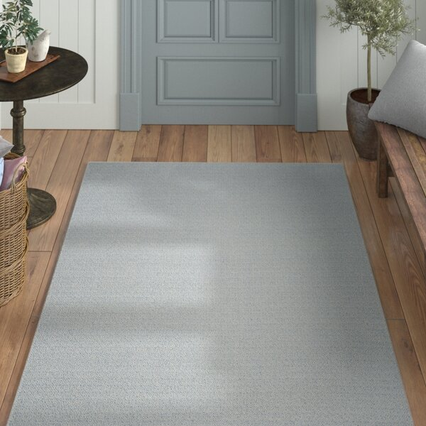 Oxbow Hand-Woven Ivory/Light Blue Area Rug by Laurel Foundry Modern Farmhouse