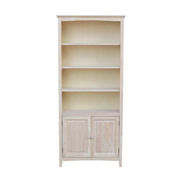 Jeske Standard Bookcase by Alcott Hill