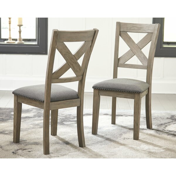 Bromborough Upholstered Dining Chair (Set of 2) by Gracie Oaks