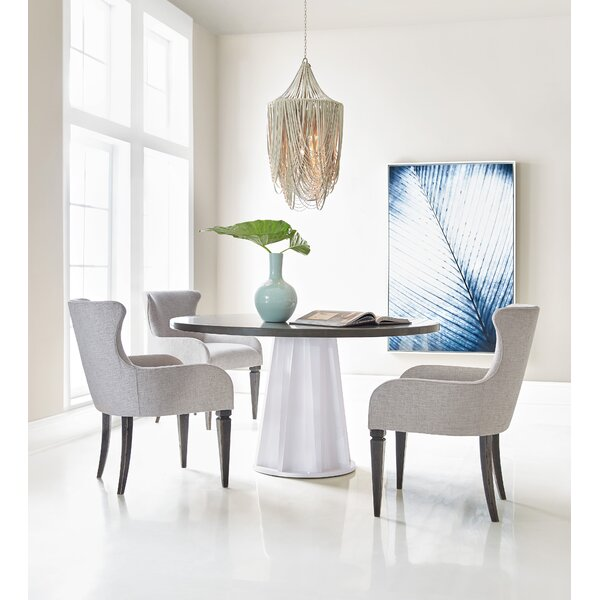 Melange Empire State of Mind Ped 4 Piece Dining Set by Hooker Furniture
