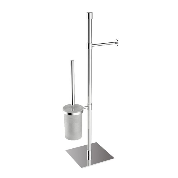 Complements Free Standing Toilet Paper Holder