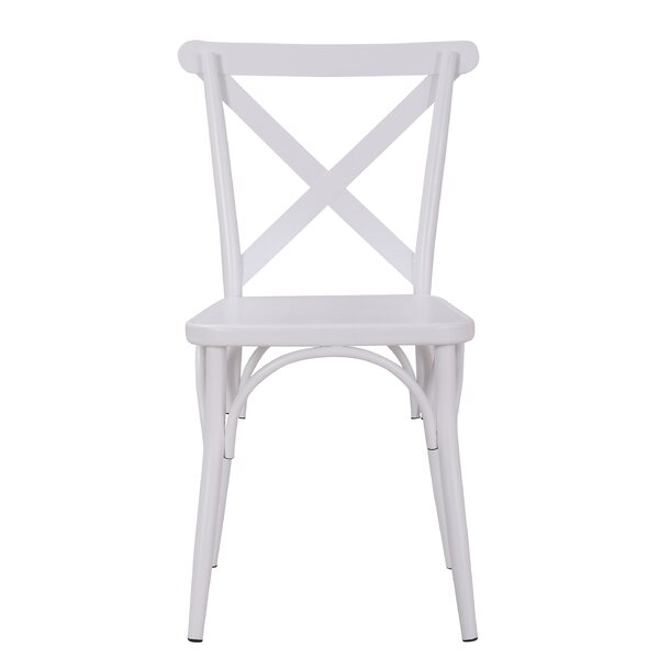 Parikh Cross Back Dining Chair (Set of 2) by Breakwater Bay
