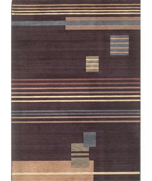 Mcgraw Mocha Contemporary Rug by Latitude Run