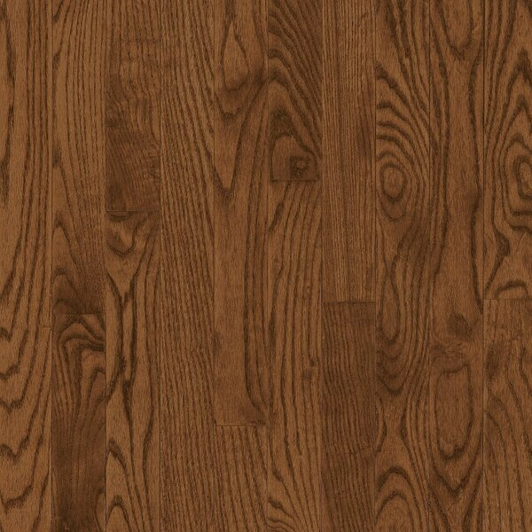 Manchester 2.25 Solid Oak Hardwood Flooring in Caramel by Bruce Flooring