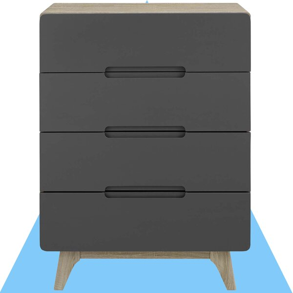 Conrad 4 Drawer Chest by Hashtag Home