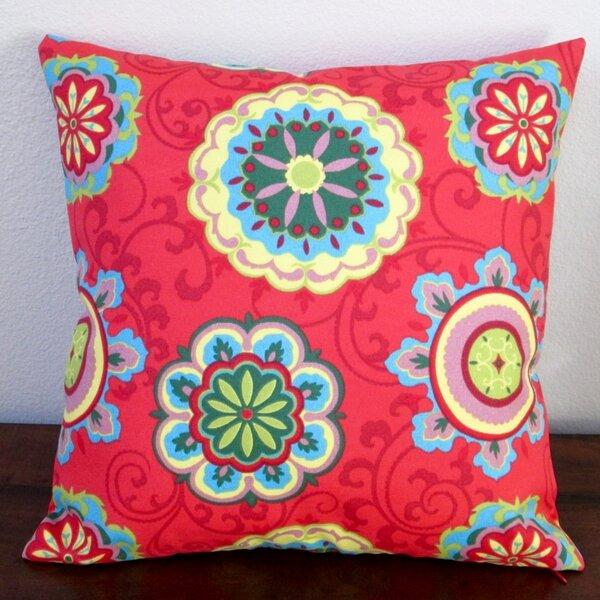 Geometric Circles Modern Decorative Outdoor Pillow Cover (Set of 2) by Artisan Pillows