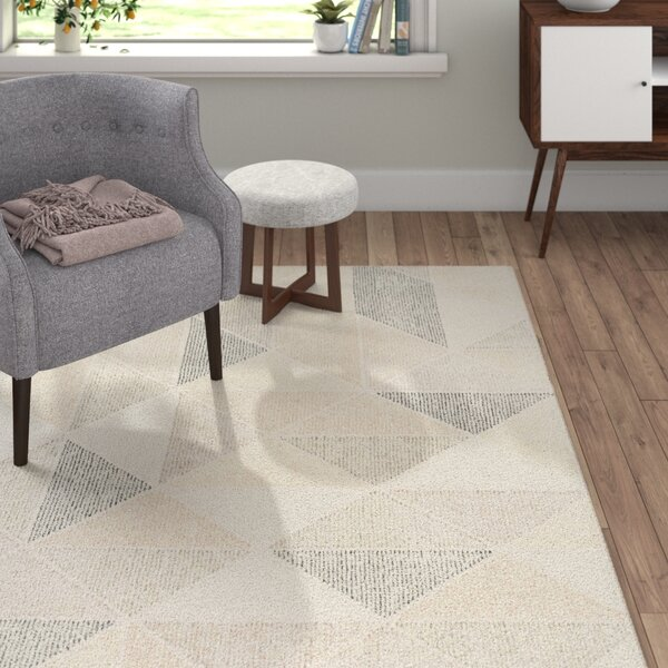 Madero Hand-Tufted Charcoal/Ivory Area Rug by Langley Street