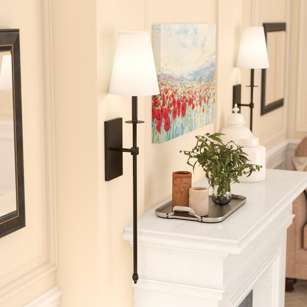 Meadville 1-Light Wallchiere by Three Posts