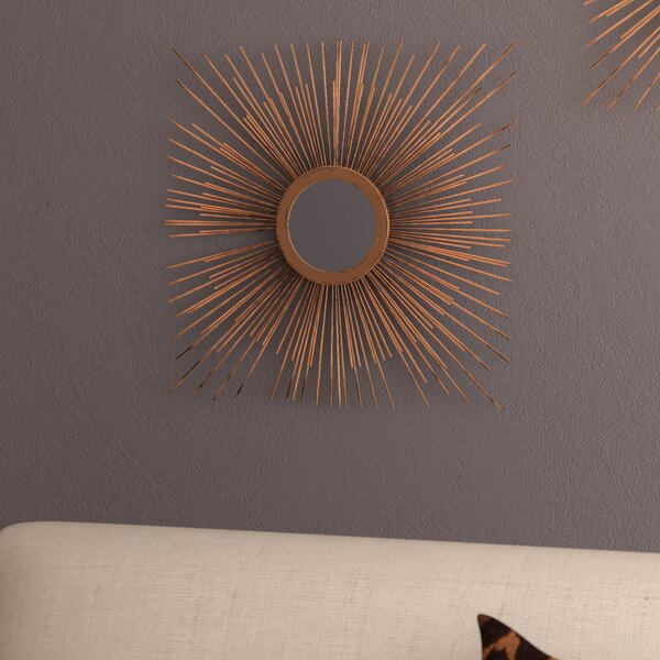 Aster Star Burst Accent Mirror by Bungalow Rose