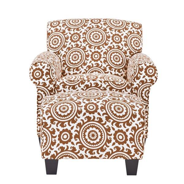 Clarke 19.5-inch Armchair and Ottoman by Latitude Run Latitude Run