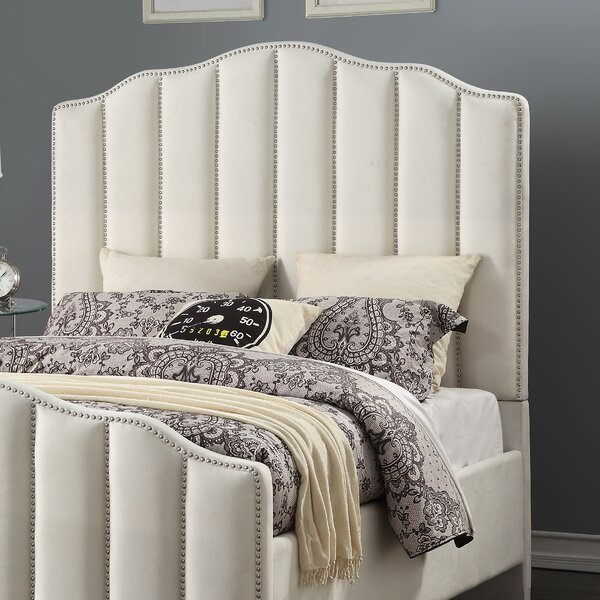 Addilynn Upholstered Panel Headboard by Everly Quinn