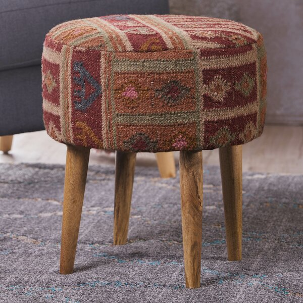 Oujda Modern Vanity Stool by Bungalow Rose