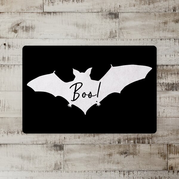 Dennisport Boo Bat Kitchen Mat