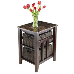 Zoey End Table by Luxury Home