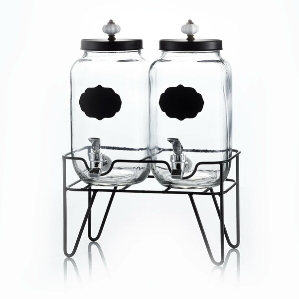 Alexei 3.1 Litres Beverage Dispenser (Set of 2) by