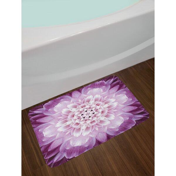 Chrysanthemum Flower Bath Rug by East Urban Home| @ $39.99