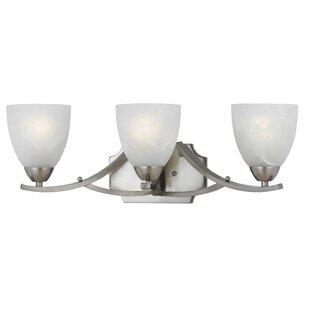 Deals Gorrell 3-Light Vanity Light By Red Barrel Studio