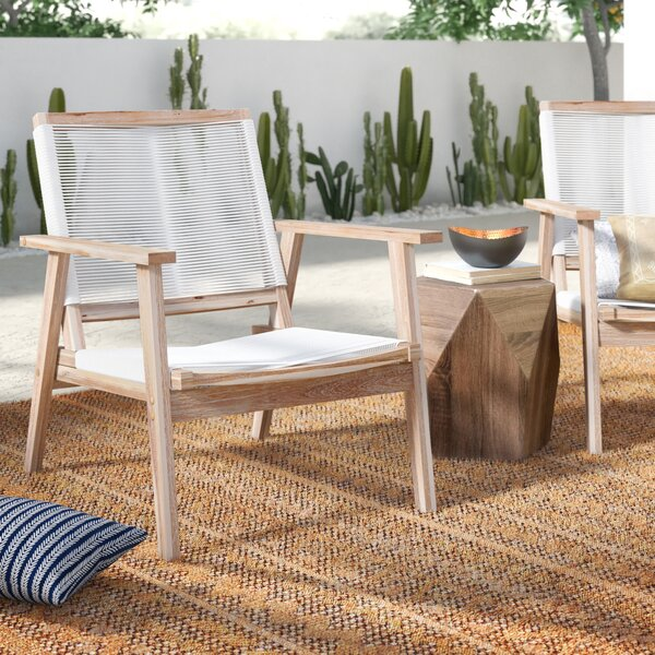 Darrin Patio Chair (Set of 2) by Mistana