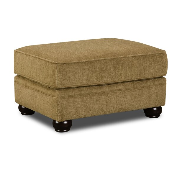 Simmons Upholstery Freida Ottoman by Astoria Grand