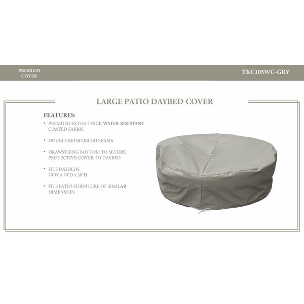 Cassic Resistant Patio Daybed Cover by TK Classics
