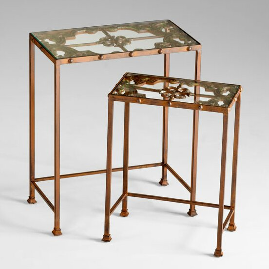Gunnison 2 Piece Nesting Tables by Cyan Design