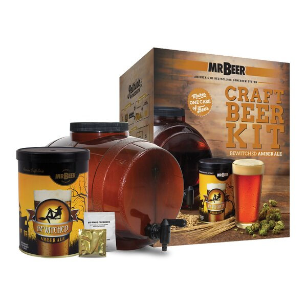 Mr. Beer Bewitched Ale Craft Beer Making Kit by Mr. Beer
