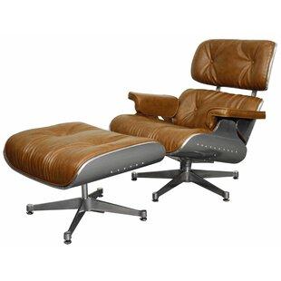 Hamilton Lounge Chair and Ottoman by Brayden Studio