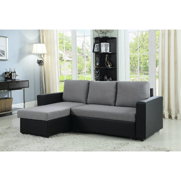 Viviana Reversible Sleeper Sectional By Wade Logan