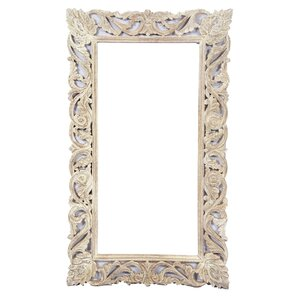 Attractive Solid Wood Hand Carving Full Length Mirror Good Looking