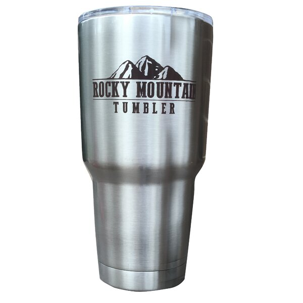 Rocky Mountain 30 oz. Stainless Steel Travel Tumbler by Rocky Mountain Tumbler