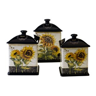 Hibbell 3-Piece Kitchen Canister Set