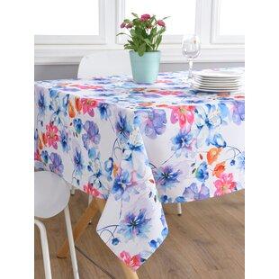 aqua tablecloth wayfair