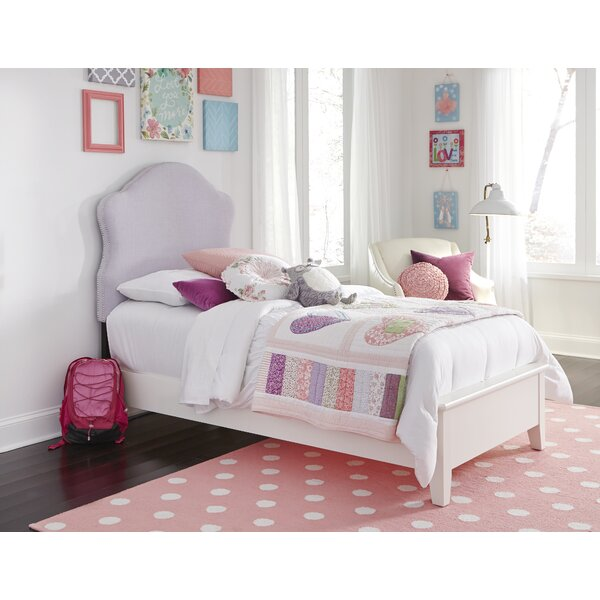 Bloomington Upholstered Panel Bed by Harriet Bee