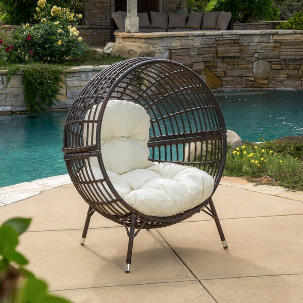 Mcanally Round Ball Chair with Cushions by Brayden Studio