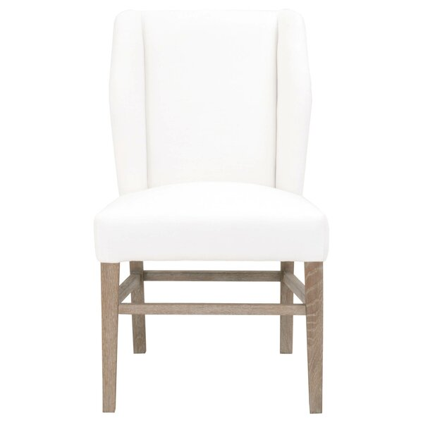 Millport Sculpted Wing Upholstered Dining Chair (Set of 2) by Gracie Oaks