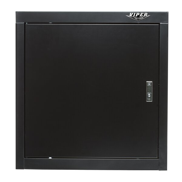 26 H x 26 W x 15.75 D 1 Door Wall Cabinet with Ste