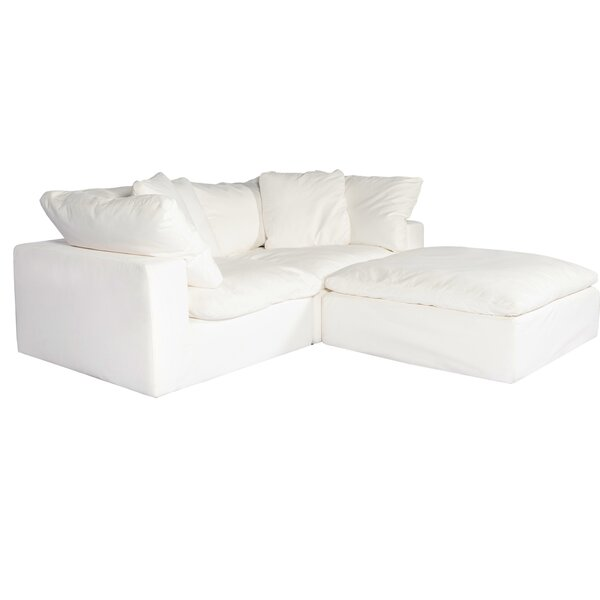 Up To 70% Off Fairwood Right Hand Facing Modular Sectional With Ottoman