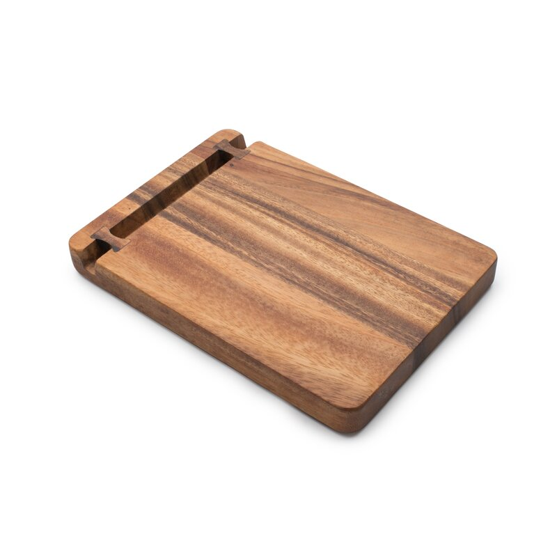 Bayou Breeze Woodard Acacia Wood Cutting Board Wayfair