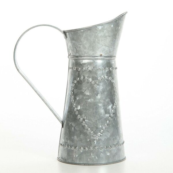 Caywood Metal Pitcher by Gracie Oaks