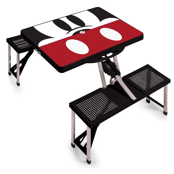 Mickey Mouse Folding Aluminum Camping Table by ONIVA™