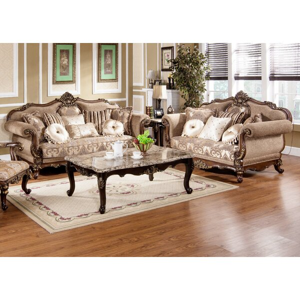 Peabody 2 Piece Living Room Set by Astoria Grand