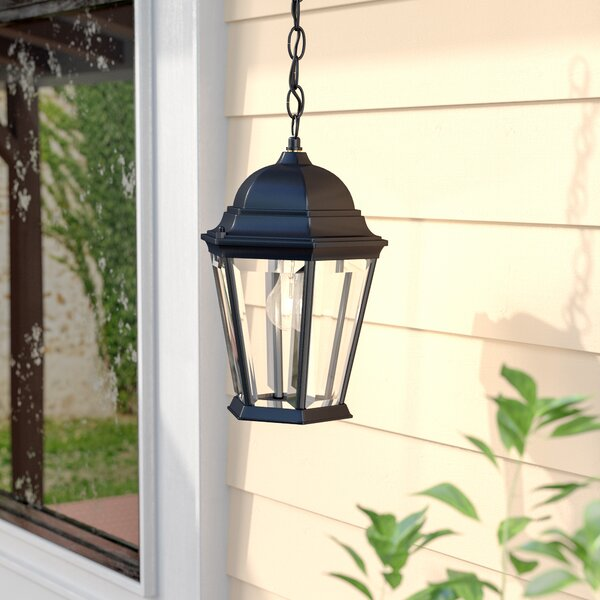 Bellver Traditional 1-Light Outdoor Hanging Lantern by Astoria Grand
