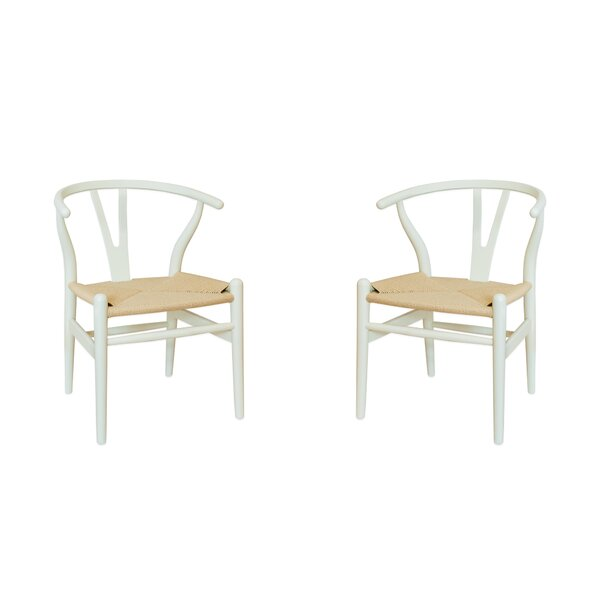 Lahziri Solid Wood Dining Chair (Set Of 2) By Bungalow Rose