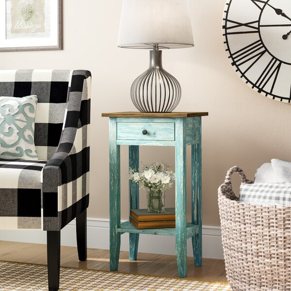 Cusseta End Table by August Grove