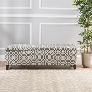 Scriber Upholstered Storage Bench by Varick Gallery