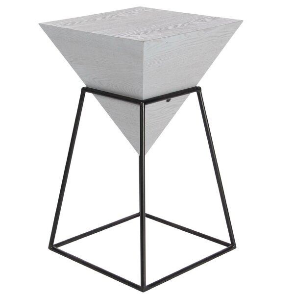 Perryville Pyramid End Table by Wrought Studio