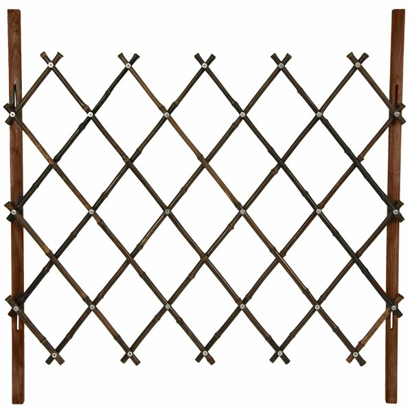 3.5 ft. H x 3.5 ft. W Diamond Fence Panel by Oriental Furniture