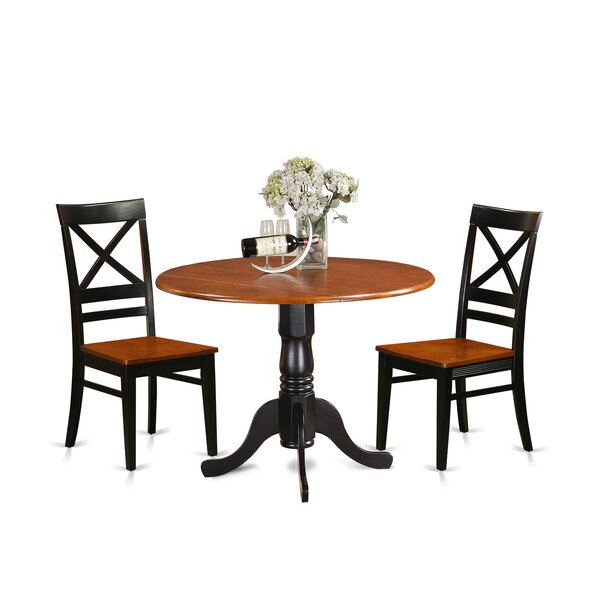 Stannard 3 Piece Dining Set by Charlton Home Charlton Home